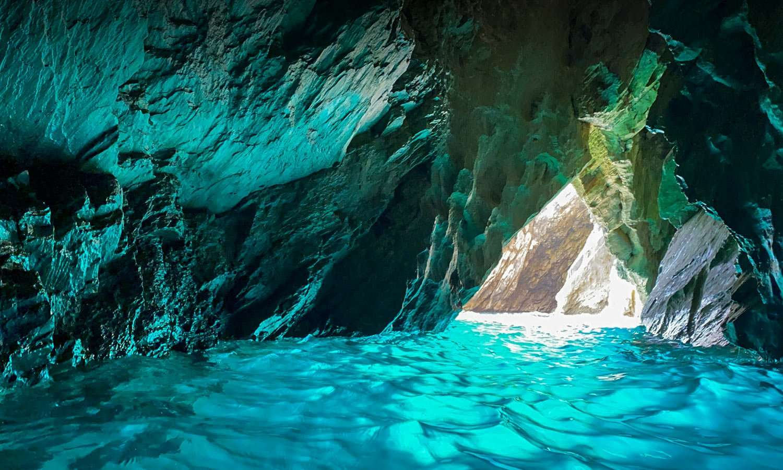skiathos blue cave